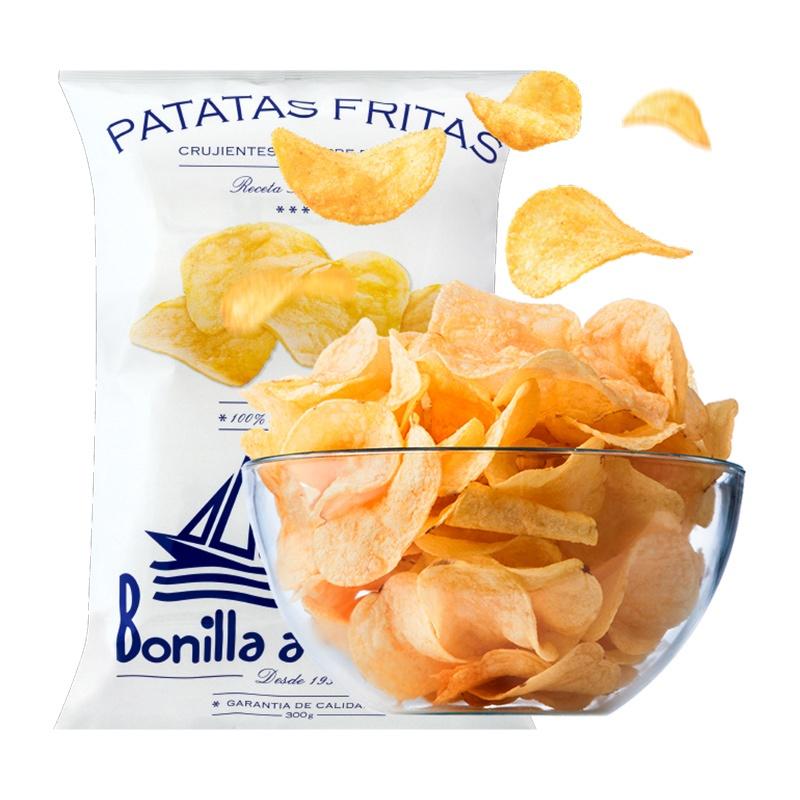 Patatas fritas Bonilla a la vista